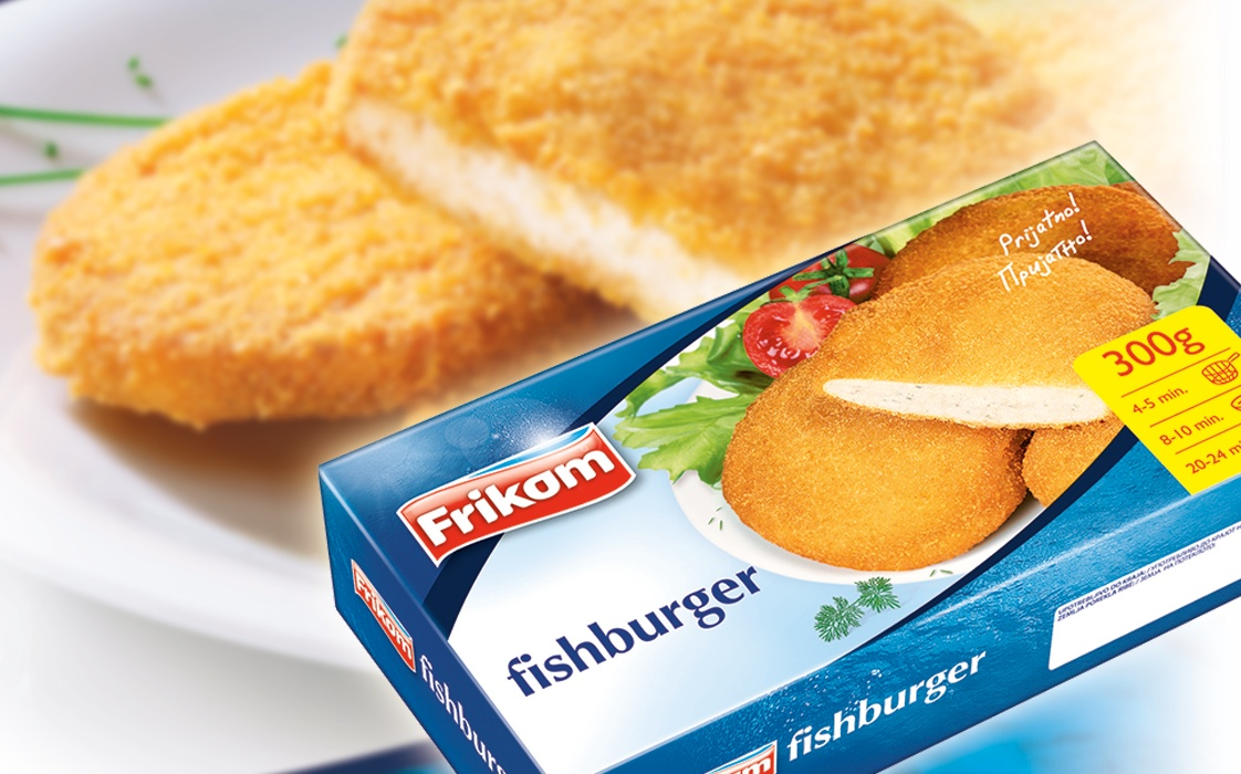 Fishburger Breaded Fish Fish Products Frikom