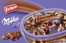 Grandissimo Milka triple chocolate