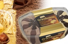 Grandissimo biscuit and chocolate-hazelnut