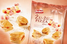 Pizza flavour puff pastry