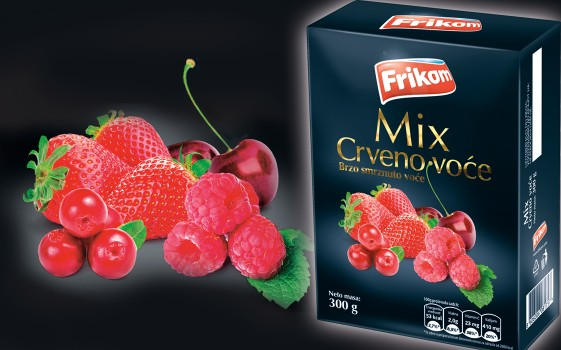 Mix red fruit