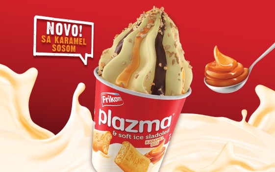 Plazma soft ice cream